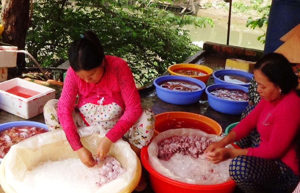 Khi chuột được ướp đá sẽ được chuyển lên các thành phố lớn như Cần Thơ, TP Hồ Chí Minh, các tỉnh Đông Nam bộ...