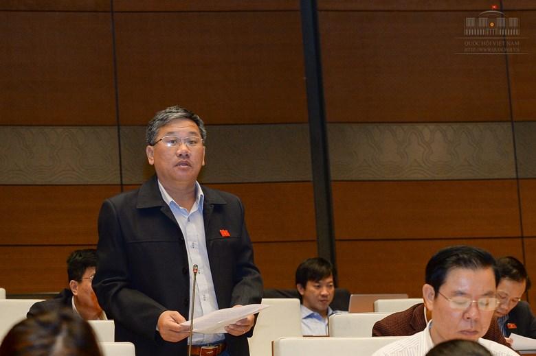 Đại biểu Trịnh Ngọc Phương (đoàn Tây Ninh)