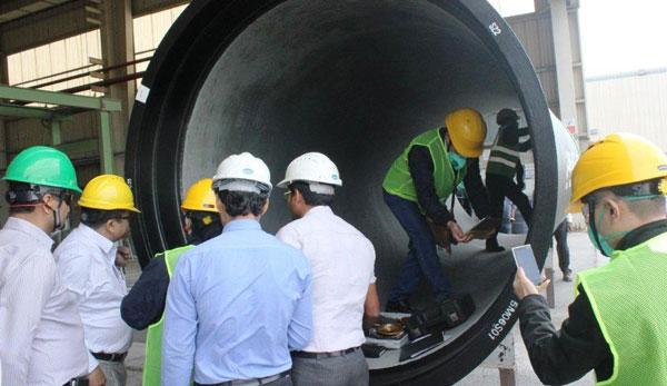 Đấu thầu ống nước sông Đà 2: Nhà thầu Ấn Độ