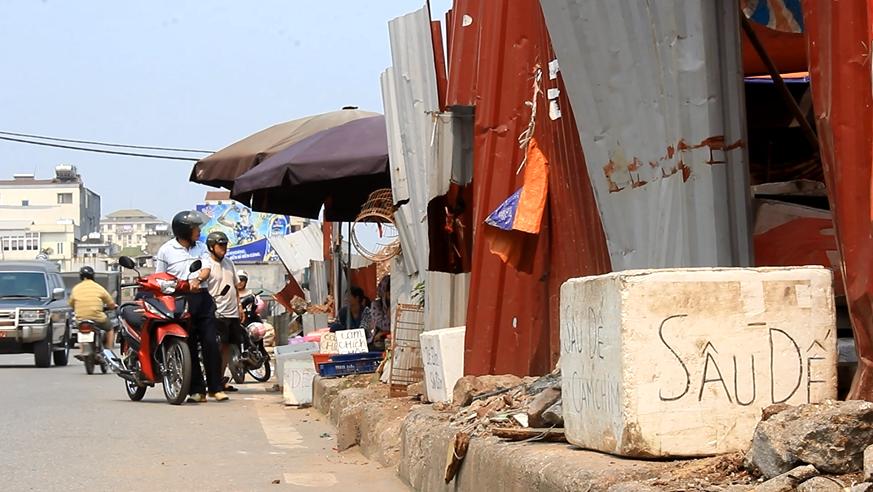 """Chợ sâu bọ """"độc"""" nhất ở Hà Nội"""