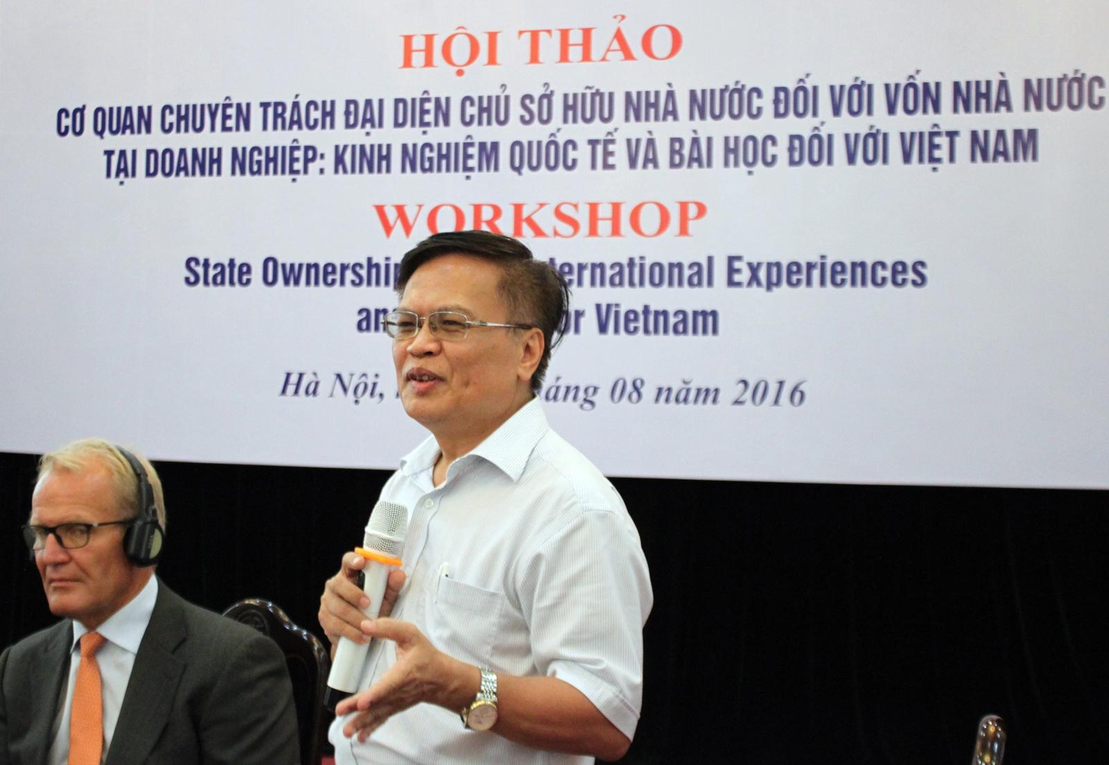 Thứ trưởng Bộ Kế hoạch và Đầu tư: không ai có quyền can thiệp vào