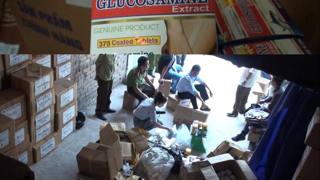 Vụ bắt hàng chục ngàn hộp thực phẩm chức năng: Bước đầu chứng minh là hàng giả