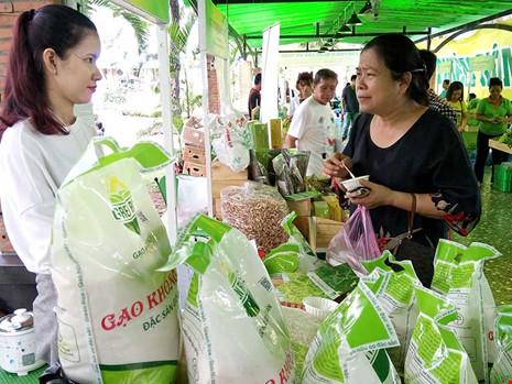 Một số công ty đã đầu tư sản xuất gạo đáp ứng tiêu chuẩn khắt khe của Nhật, Mỹ và bán cả thị trường trong nước. Ảnh: QUANG HUY