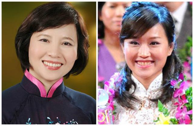Gia đình Thứ trưởng Bộ Công Thương Hồ Thị Kim Thoa hiện đang nắm giữ tổng cộng 11,8 triệu cổ phiếu DQC, chiếm 34,12% vốn điều lệ doanh nghiệp này (Ảnh: Thứ trưởng Thoa và con gái Nguyễn Thái Nga - Phó Tổng giám đốc DQC)