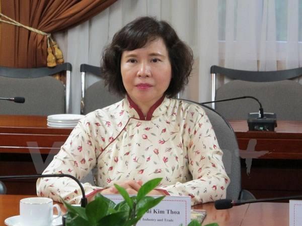 Bộ Công Thương: Thứ trưởng Hồ Thị Kim Thoa xin nghỉ việc vì