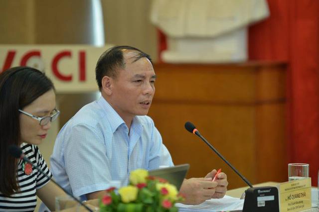 Ông Hồ Quang Thái - Phó Chánh văn phòng Ban chỉ đạo 389 quốc gia