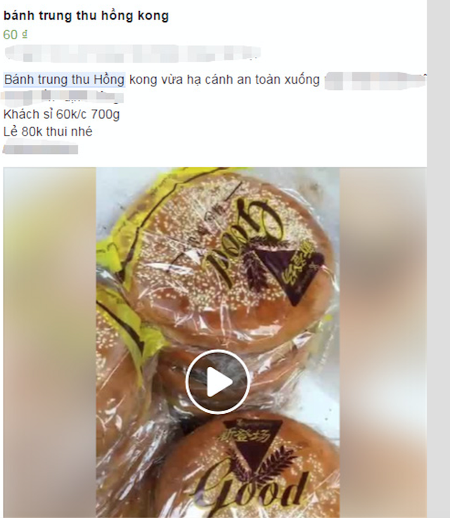 Kỳ dị bánh trung thu Hồng Kông to như pizza, giá 50 ngàn đồng/chiếc