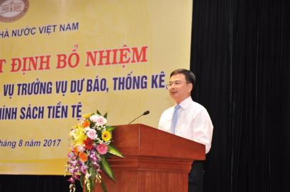 Ông Nguyễn Đức Long - Vụ trưởng Vụ Dự báo Dự báo thống kê