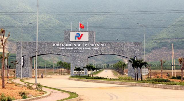 Khu công nghiệp Phú Vinh, một trong những dự án đầu tư trong giai đoạn khó khăn nhất của KKT Vũng Áng.