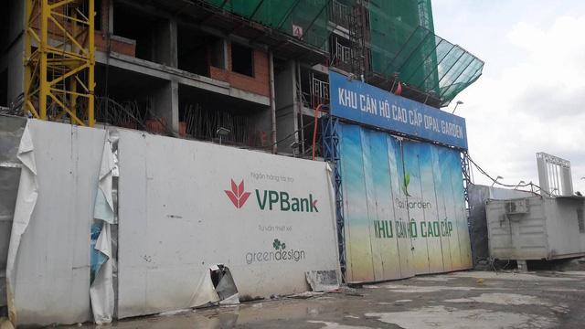 Dự án Opal Garden bị đình chỉ thi công vì