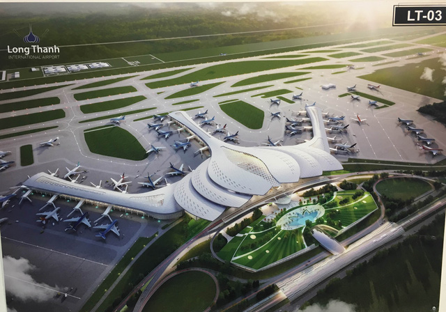 Cảng HKQT Long Thành đang trong giai đoạn lập báo cáo nghiên cứu khả thi.