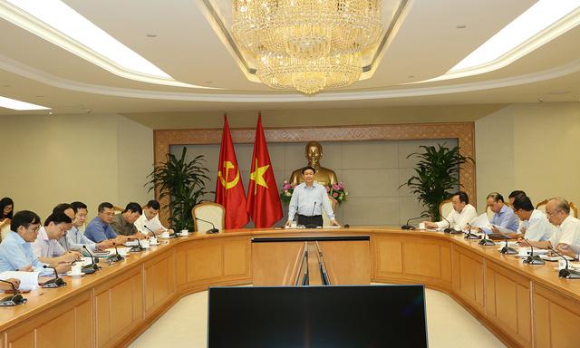 Phó Thủ tướng Vương Đình Huệ chủ trì cuộc họp lần thứ 4 của Ban chỉ đạo xử lý tồn tại, vướng mắc 12 dự án ngành Công Thương.
