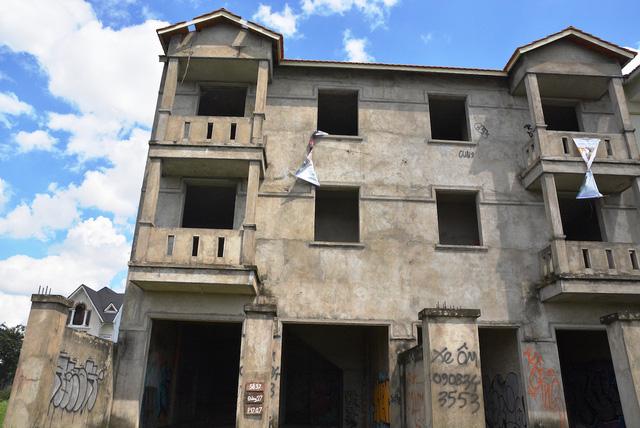 Những căn biệt thự ma, hậu quả từ thời bong bóng bất động sản