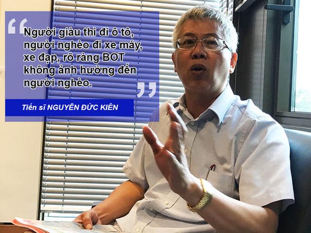 Ông Nguyễn Đức Kiên cãi dư luận: