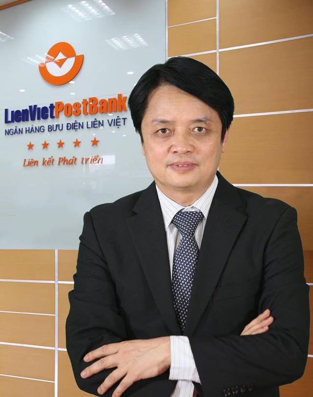 TS.Nguyễn Đức Hưởng - Chủ tịch HĐQT LienVietPostBank.