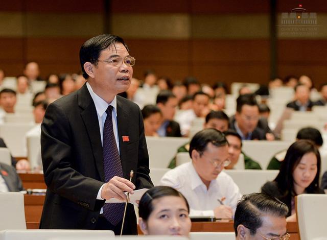 Bộ trưởng Bộ Nông nghiệp Nguyễn Xuân Cường.