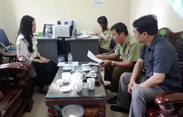 Lực lượng Quản lý thị trường Hà Nội đã chuyển hồ sơ vụ việc hàng hóa mỹ phẩm trị giá gần 11 tỷ đồng của quý bà Nguyễn Thu Trang sang cơ quan công an