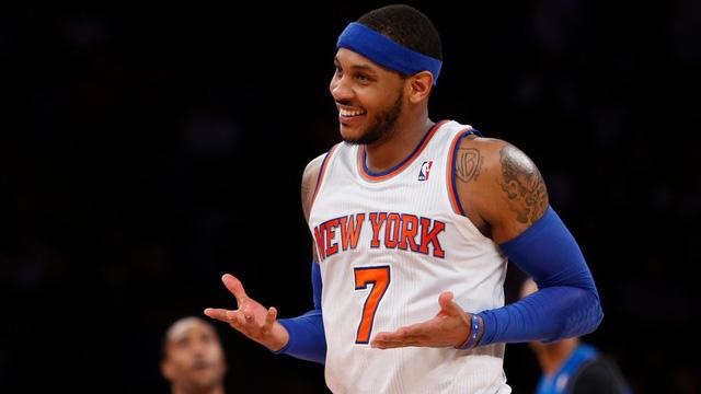 Carmelo Anthony hiện sở hữu khối tài sản khoảng 90 triệu USD. (Nguồn: Clutch Points)