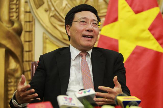 Phó Thủ tướng - Bộ trưởng Ngoại giao Phạm Bình Minh