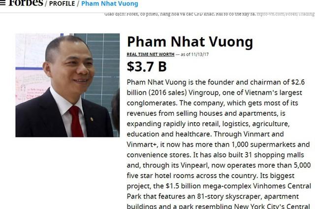 Tài sản tỷ phú Việt vượt ông Donald Trump, chi 400 tỷ đồng vợ sếp ngân hàng lọt top người giàu