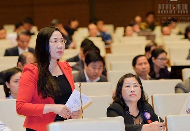 Đại biểu Quốc hội Nguyễn Thị Thủy. Ảnh: Quốc Hội