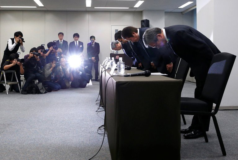 Lòng tin cho doanh nghiệp Nhật trượt dốc sau vụ bê bối của Mitsubishi