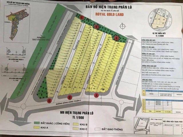 TPHCM: Ngang nhiên rao bán đất quy hoạch cây xanh, đối diện UBND Phường