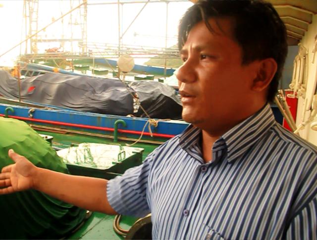 Bình Định: Tàu vỏ thép 67 nằm bờ vì hư hỏng, chủ tàu lại