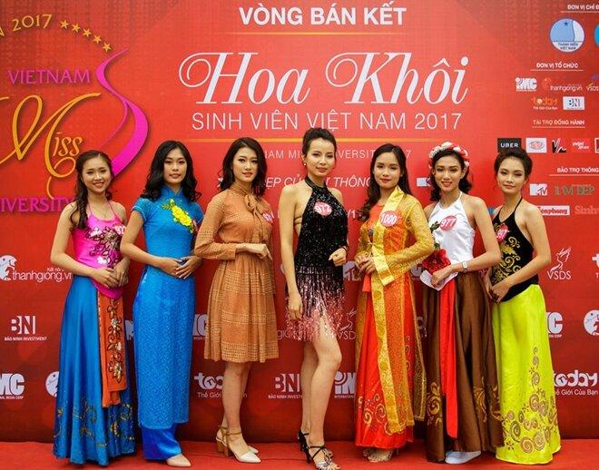 Tân Hiệp phát tài trợ cho cuộc thi Hoa khôi Sinh viên 2017