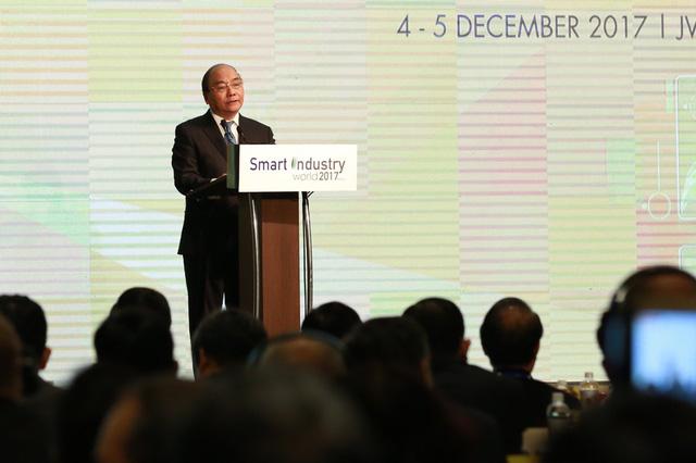 Thủ tướng: Cách mạng 4.0 là cơ hội cho khát vọng phồn vinh dân tộc