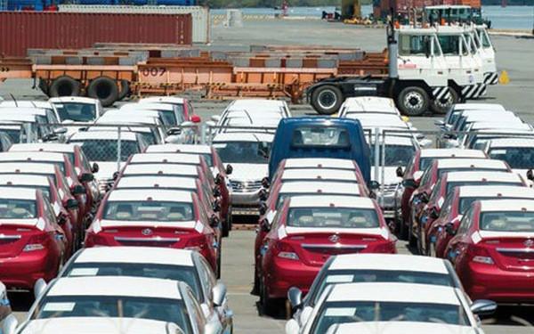 Lượng xe nhập đang đà suy giảm mạnh mẽ