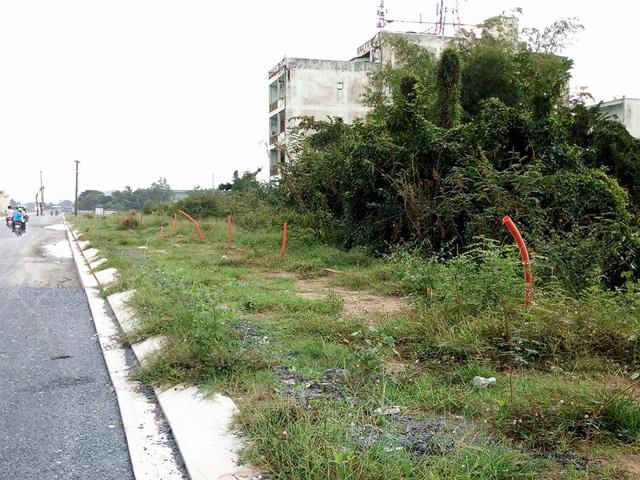 Một số tuyến đường nội bộ vẫn chưa được hoàn thiện