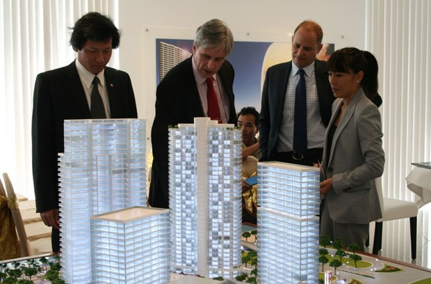 Thị trường bất động sản Việt Nam đang có những điểm hấp dẫn với các nhà đầu tư nước ngoài