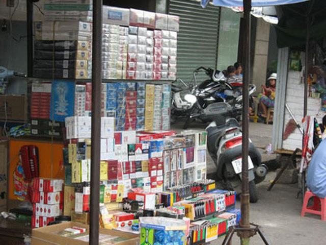 Năm 2018, các doanh nghiệp được phép nhập khẩu hơn 50.000 tấn thuốc lá. Ảnh: VTV