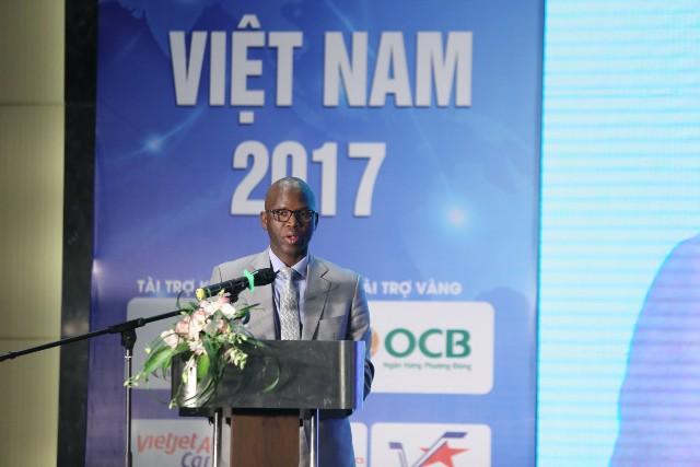 Ông Ousmane Dione, Giám đốc Quốc gia Ngân hàng Thế giới (WB) tại Việt Nam