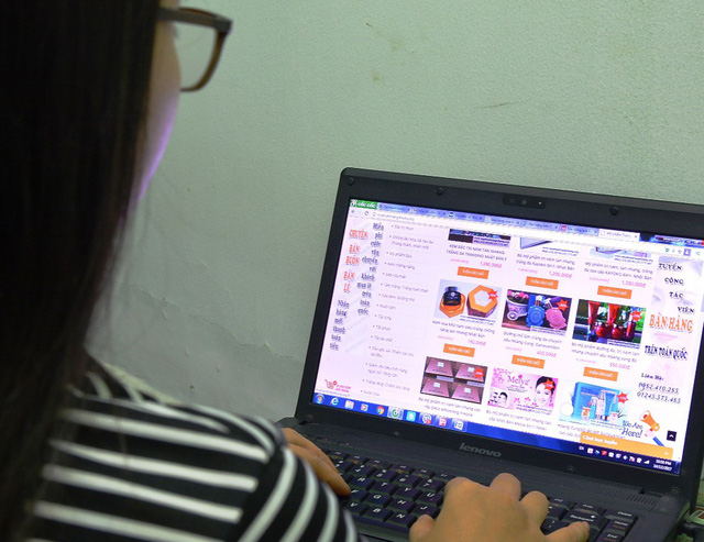 Dân buôn online