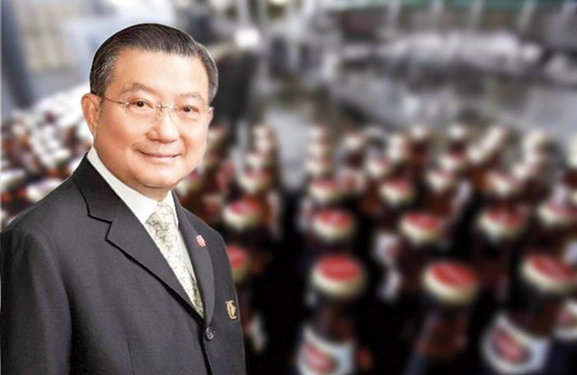 Tỷ phú Thái Lan Charoen Sirivadhanabhakdi, người đứng sau thương vụ mua vào hơn 343 triệu cổ phiếu SAB của Vietnam Beverage.