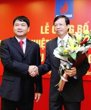 Ông Đinh La Thăng từng trao quyết định bổ nhiệm chức vụ Tổng giám đốc PVN cho ông Phùng Đình Thực