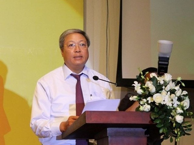 Ông Phan Đình Đức, thành viên Hội đồng thành viên PVN mới bị khởi tố, nhận thêm quyết định đình chỉ công tác. Ảnh: TP