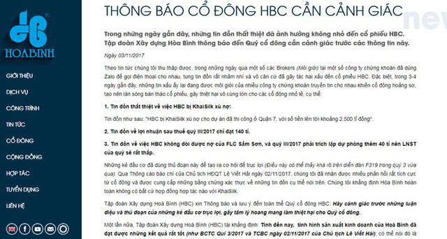 Đại gia Việt sa cơ, những cú tung tin