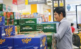 Hà Nội dự kiến tiêu thụ 200 triệu lít rượu, bia dịp Tết