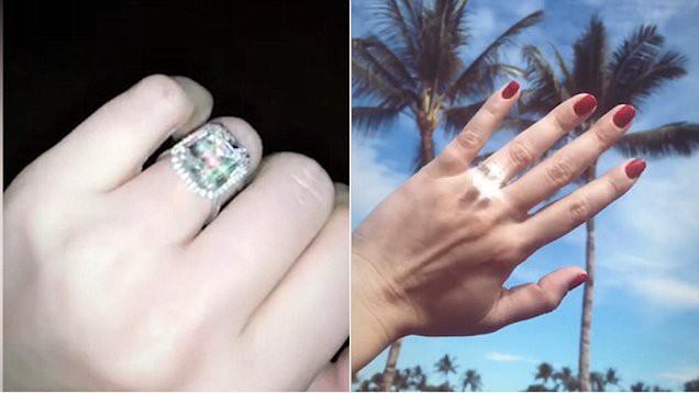 Sau khi hẹn hò trong một năm, cả hai đã đính hôn tại The Four Seasons ở Kona, Hawaii, nơi thuộc sở hữu của cha Dell. (Nguồn: BI)