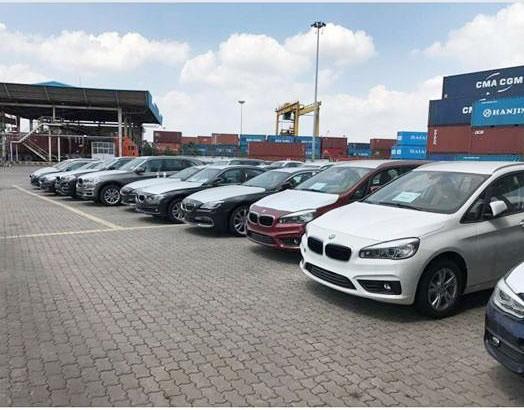 Xe BMW được nhập vào Việt Nam (Ảnh minh họa)