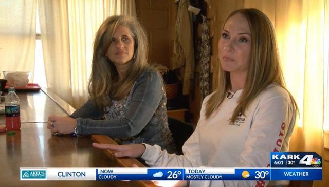 Leslie Underwood (bên phải) nói rằng cô và Vanhouten đã có kế hoạch chia đôi số tiền thưởng nếu trúng giải. (Nguồn: KARK)