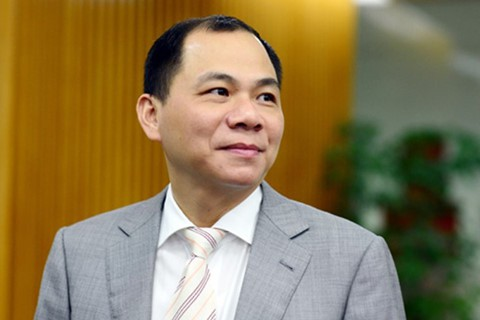 Ông Phạm Nhật Vượng - Chủ tịch tập đoàn Vingroup.