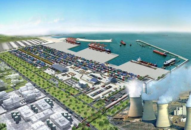 Phối cảnh Khu Kinh tế Đông Nam tỉnh Quảng Trị