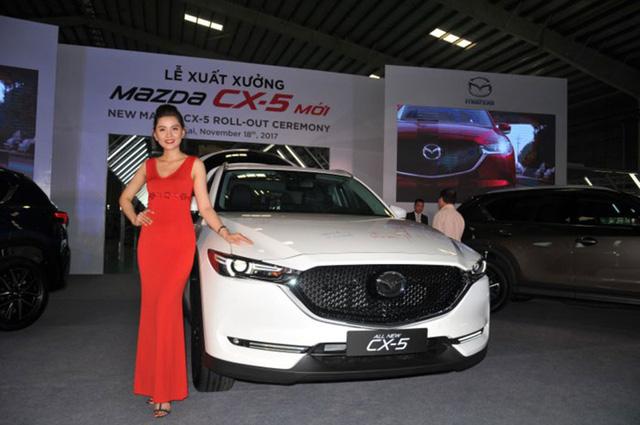 Mazda CX-5 mới do THACO lắp ráp tăng giá nhẹ so với năm 2017.