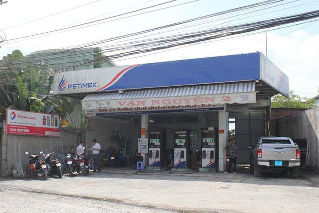 Cây xăng Vạn Nguyên 2 ở đường Hoàng Quốc Việt, quận Ninh Kiều, TP Cần Thơ