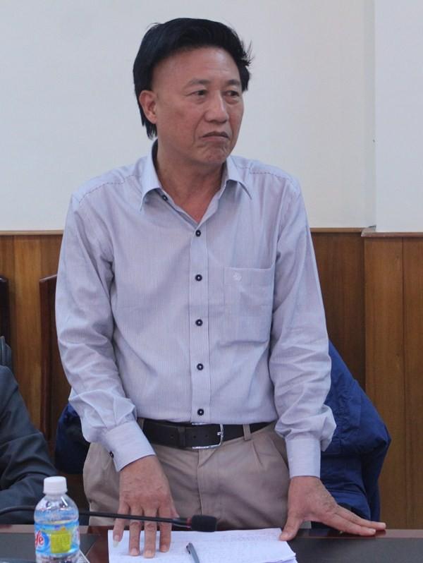 Giám đốc Công Ty TNHH Đại Nguyên Dương chỉ hỗ trợ cho ngư dân khoản tiền bèo bọt khiến ngư dân bức xúc.