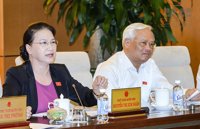 """Chủ tịch Quốc hội Nguyễn Thị Kim Ngân: """"Trong thời điểm hiện tại đưa ra việc tăng thuế suất là không thuận vì ảnh hưởng đến người dân và doanh nghiệp"""""""